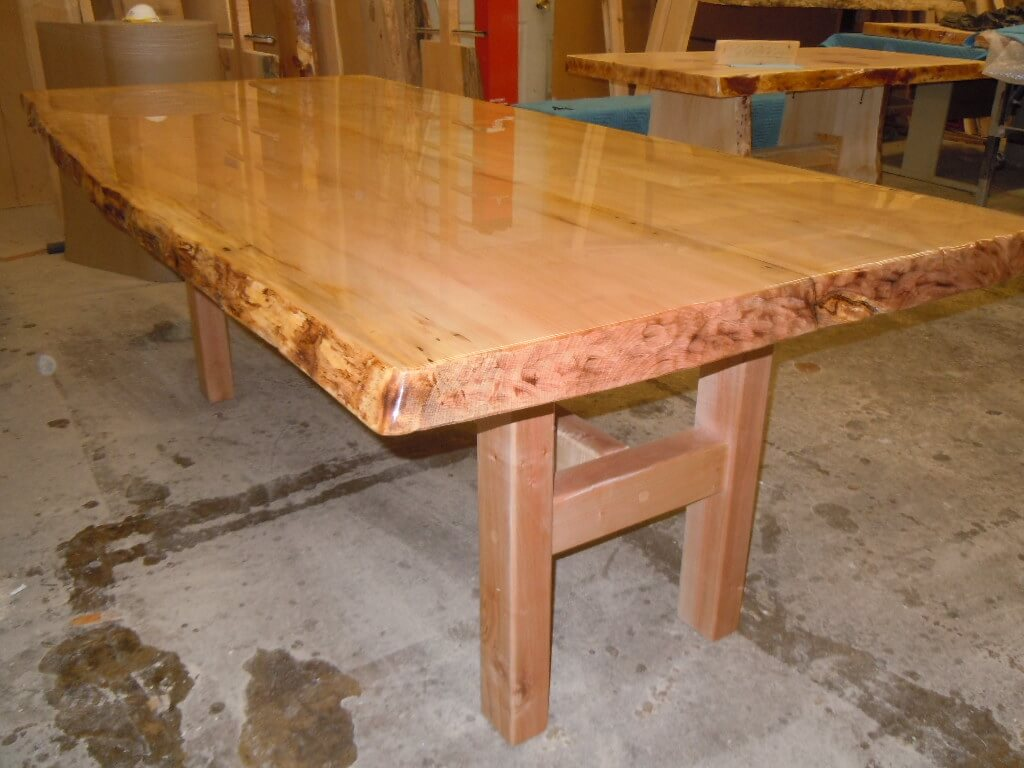 B Kline Maple Table 001