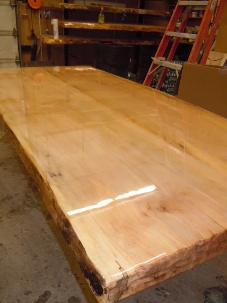 B Kline Maple Table 007